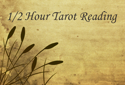 1/2 Hour Tarot Reading